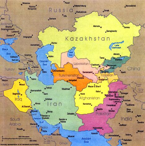 The Rising Star of Russia Central Asia Armstrong Economics