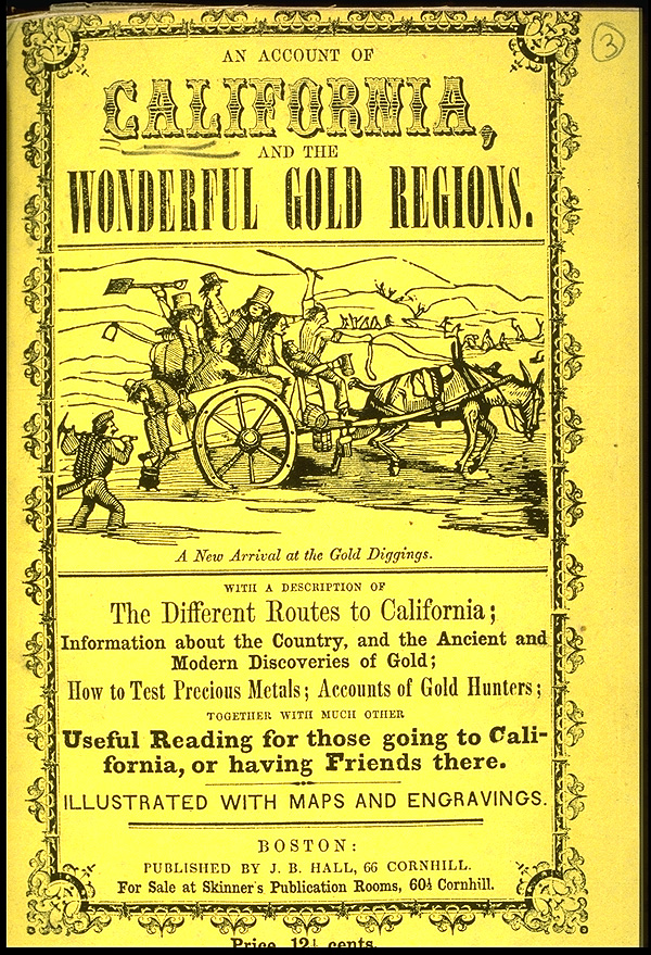 A history of the political crisis during the gold rush in california